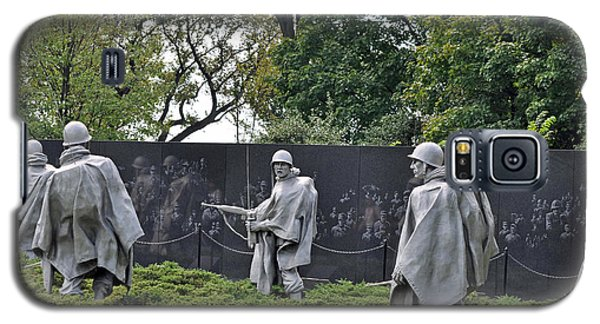 Korean War Memorial 4 Galaxy S5 Case