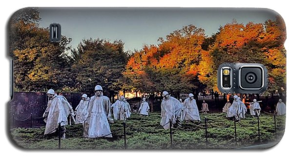 Korean War Memorial In Washington Dc Galaxy S5 Case