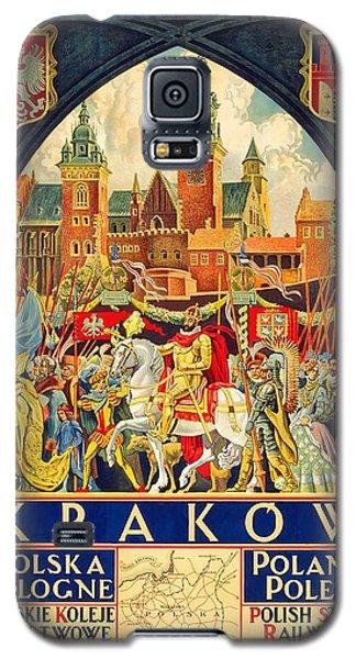 Krakow Poland - Vintage Travel Poster Galaxy S5 Case