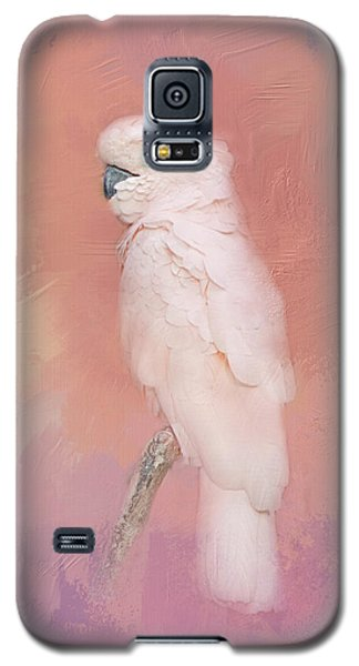 Kramer The Moluccan Cockatoo Galaxy S5 Case by Theresa Tahara