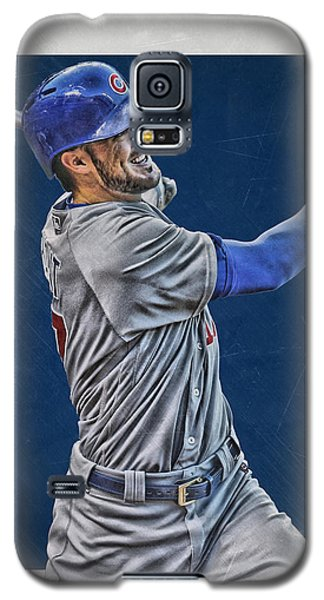 Kris Bryant Chicago Cubs Art 3 Galaxy S5 Case by Joe Hamilton