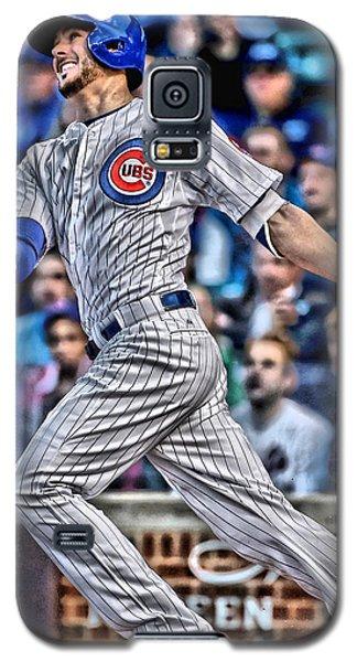 Kris Bryant Chicago Cubs Galaxy S5 Case by Joe Hamilton