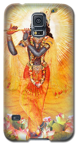 Krishna With The Flute Galaxy S5 Case