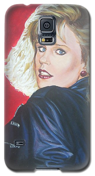 Galaxy S5 Case featuring the painting Kristi Sommers by Bryan Bustard