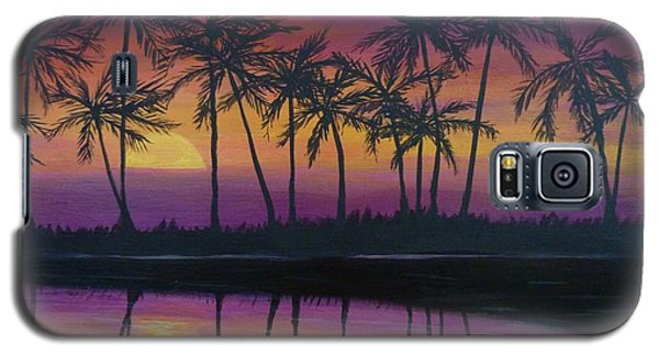 Kristine's Sunset Galaxy S5 Case