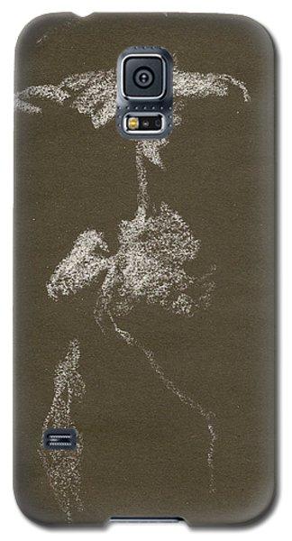 Kroki 1997, Pre.3 Vit Krita, Figure Drawing White Chalk Galaxy S5 Case