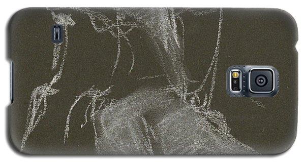 Kroki-2015-04-11-figure-drawing-white-chalk-marica-ohlsson-marica-ohlsson Galaxy S5 Case