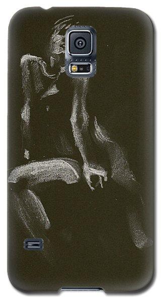 Kroki 2014 10 18_3 Figure Drawing White Chalk Galaxy S5 Case
