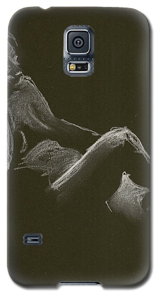 Kroki 2014 12 27_3 Figure Drawing White Chalk Galaxy S5 Case