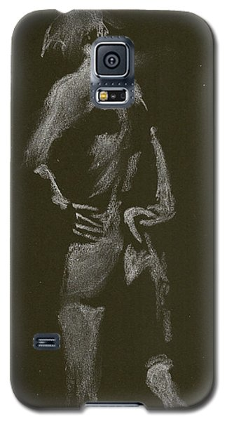 Kroki 2015 01 10_7 Figure Drawing White Chalk Galaxy S5 Case