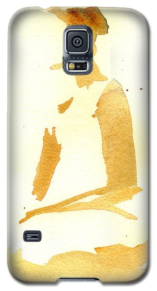 Kroki 2015 03 28_29 Maalarhelg 3 Akvarell Watercolor Figure Drawing Galaxy S5 Case