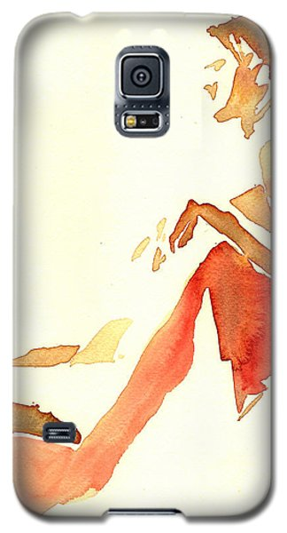 Kroki 2015 03 28_29 Maalarhelg 4 Akvarell Watercolor Figure Drawing Galaxy S5 Case