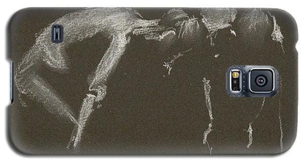 Kroki 2015 04 25 _1 Figure Drawing White Chalk Galaxy S5 Case