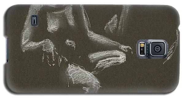 Kroki 2015 04 25 _3 Figure Drawing White Chalk Galaxy S5 Case