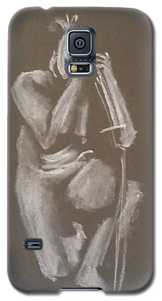 Kroki 2015 06 18_4 Figure Drawing Chinese Sword White Chalk Galaxy S5 Case