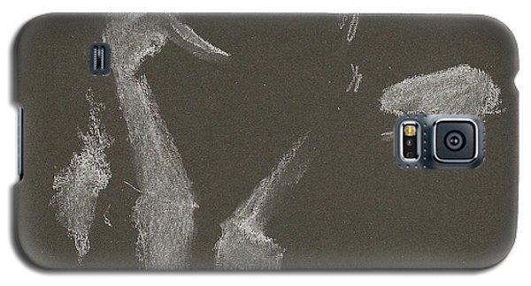 Kroki 2015 10 03_10 Figure Drawing White Chalk Galaxy S5 Case