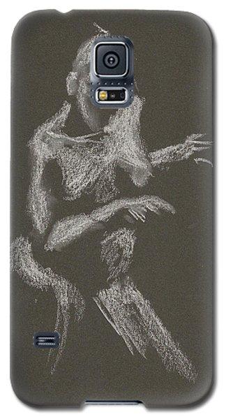 Kroki 2015 10 03_12 Figure Drawing White Chalk Galaxy S5 Case