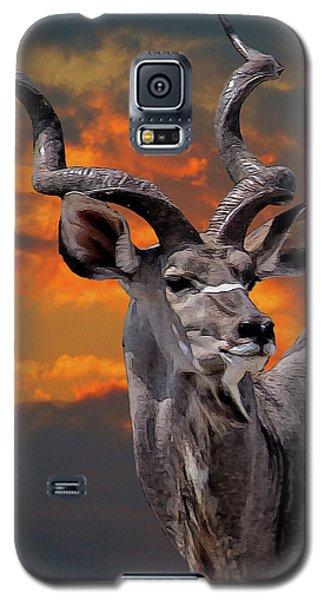 Kudu At Sunset Galaxy S5 Case