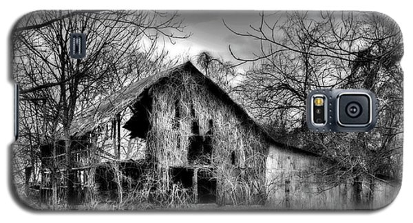 Kudzu Covered Barn In The Mississippi Delta Galaxy S5 Case