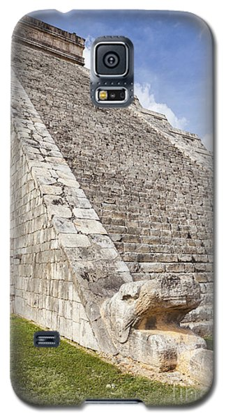 Kukulkan Pyramid At Chichen Itza Galaxy S5 Case