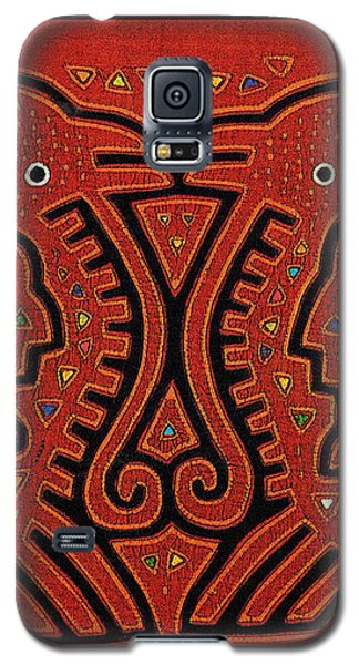 Kuna Indian Skate Fish Galaxy S5 Case