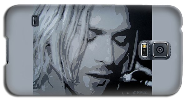 Kurt Cobain Galaxy S5 Case by Ashley Price
