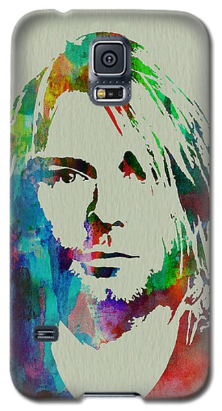 Kurt Cobain Nirvana Galaxy S5 Case by Naxart Studio