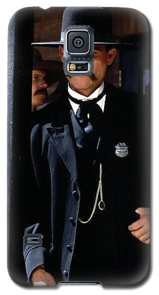 Kurt Russell As Wyatt Earp Tombstone Arizona 1993-2015 Galaxy S5 Case