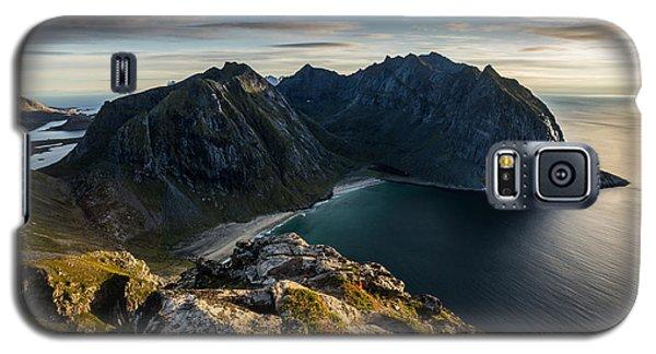 Kvalvika Beach Galaxy S5 Case