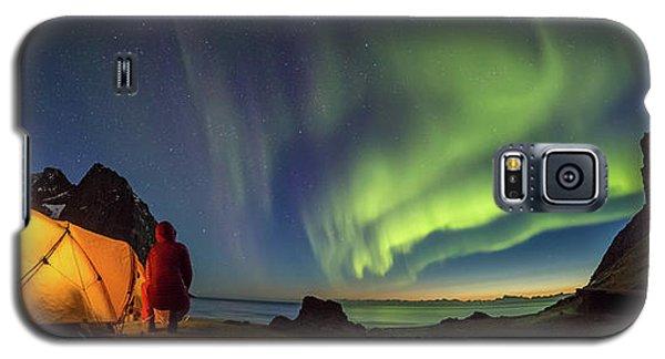 Kvalvika Under The Lights Galaxy S5 Case