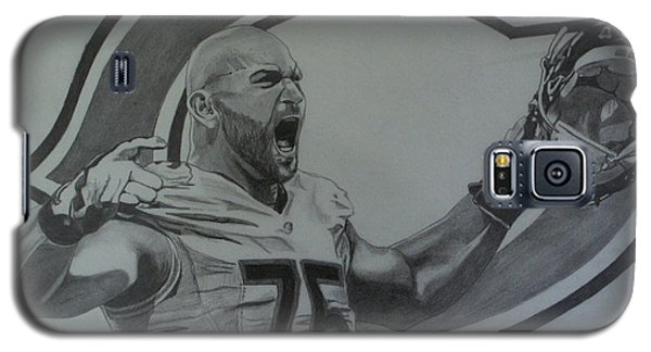 Kyle Long Of The Chicago Bears Galaxy S5 Case