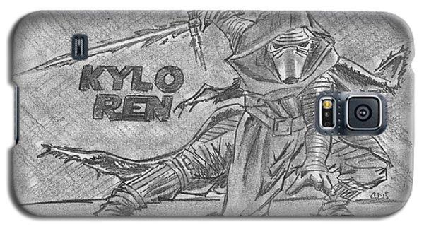 Kylo Ren The Force Awakens Galaxy S5 Case by Chris DelVecchio