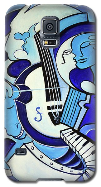 Abstract Galaxy S5 Case - L Amour Ou Quoi 2 by Valerie Vescovi