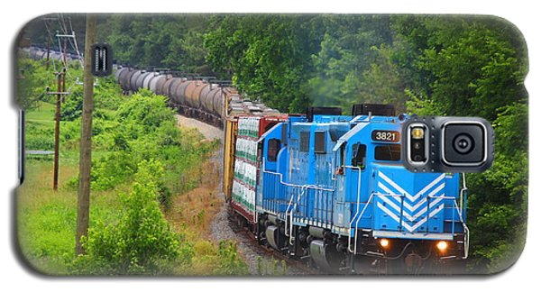 L And C Gp38-2 #3821 In Lancaster Galaxy S5 Case