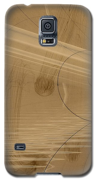 Fractals In Atlantis Left Galaxy S5 Case by David Jenkins