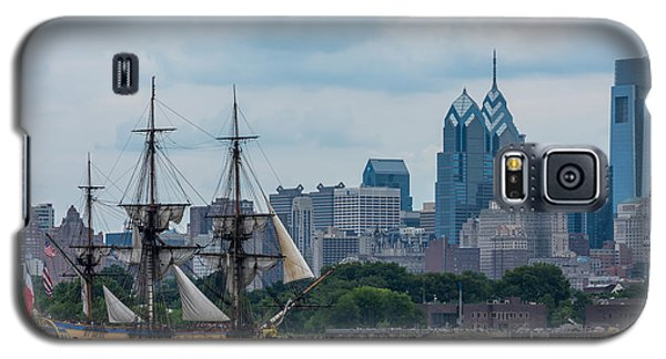L Hermione Philadelphia Skyline Galaxy S5 Case