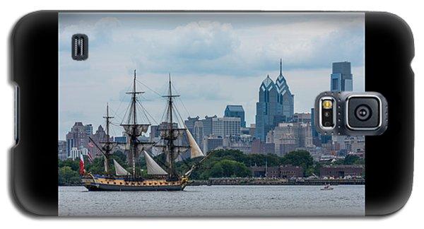 L Hermione Philadelphia Skyline Galaxy S5 Case