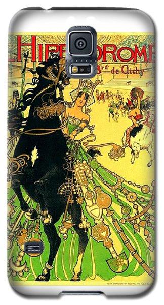 L Hippodrome 1905 Parisian Art Nouveau Poster II Manuel Orazi 1905 Galaxy S5 Case