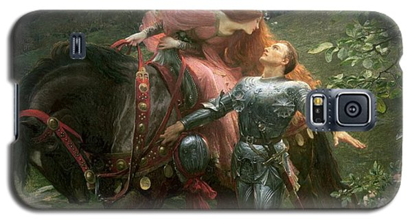 Knight Galaxy S5 Case - La Belle Dame Sans Merci by Sir Frank Dicksee