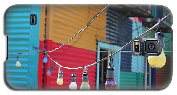 La Boca Lightbulbs Galaxy S5 Case by Wilko Van de Kamp
