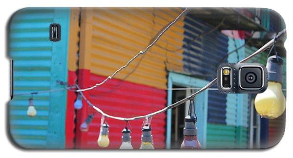 La Boca Lightbulbs Galaxy S5 Case