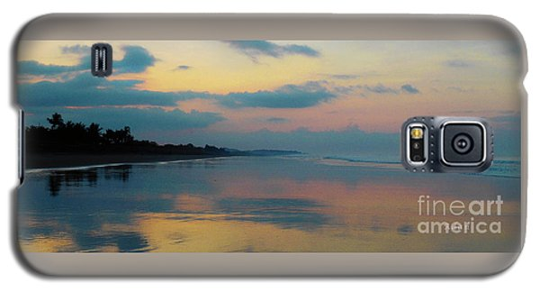 la Casita Playa Hermosa Puntarenas - Sunrise One - Painted Beach Costa Rica Panorama Galaxy S5 Case