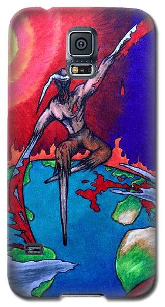 la Grande Reaper Galaxy S5 Case