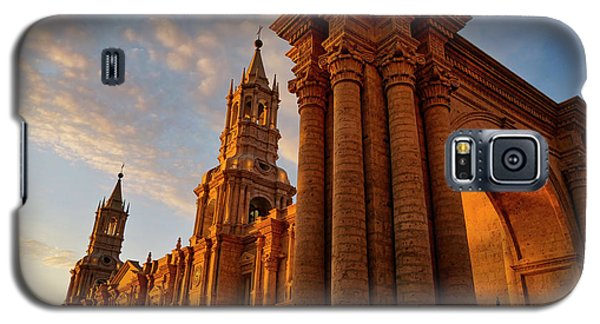 Galaxy S5 Case featuring the photograph La Hora Magia by Skip Hunt