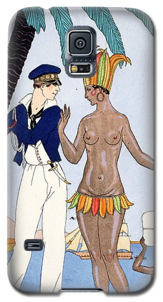 Parakeet Galaxy S5 Case - La Jolie Insulaire by Georges Barbier