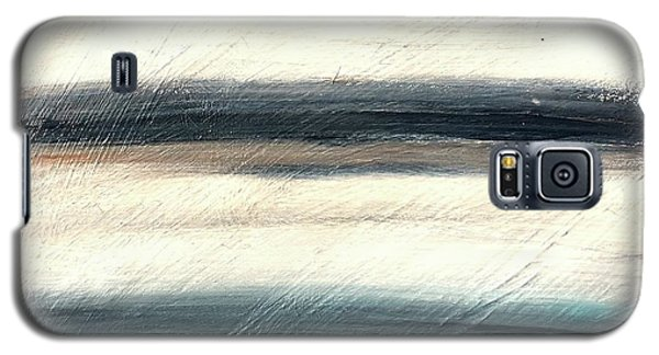 La Jolla #1 Seascape Landscape Original Fine Art Acrylic On Canvas Galaxy S5 Case