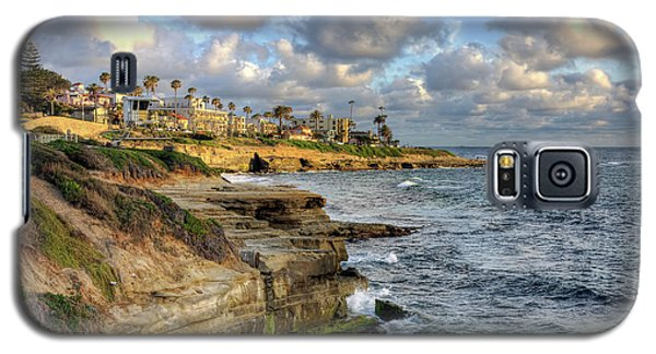 La Jolla Coastline Galaxy S5 Case by Eddie Yerkish