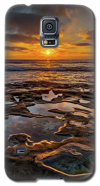 La Jolla Tidepools Galaxy S5 Case by Peter Tellone