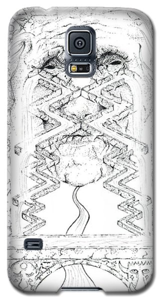 La Llorona Sombra De Arreguin Galaxy S5 Case