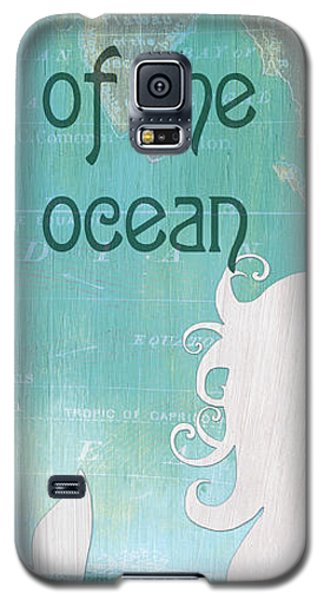 Fairy Galaxy S5 Case - La Mer Mermaid 1 by Debbie DeWitt